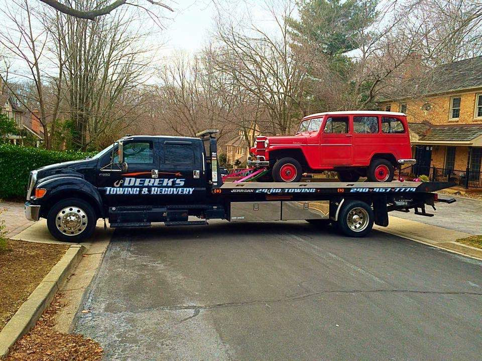 Auto A C Repair In Frederick Md Derek S Towing